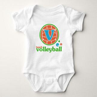 Allaire Beach Volleyball Baby Bodysuit