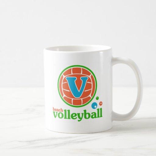 Allaire Beach Volleyball Classic White Coffee Mug