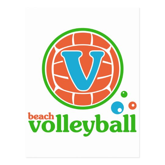 Allaire Beach Volleyball Postcard
