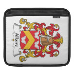 Allaire Family Crest Sleeves For iPads