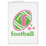 Allaire Football Greeting Card