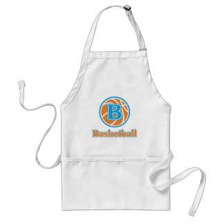Allaire Orange Basketball Adult Apron