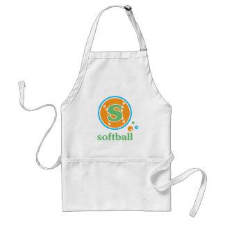 Allaire Softball Adult Apron