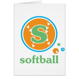 Allaire Softball Card