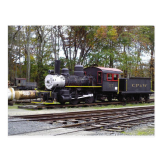 Allaire State Park train Postcards