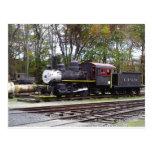 Allaire State Park train Postcards