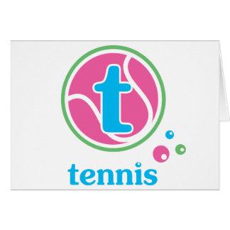 Allaire Tennis Card