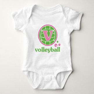 Allaire Volleyball Baby Bodysuit