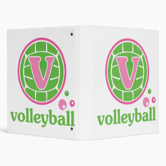 Allaire Volleyball 3 Ring Binders