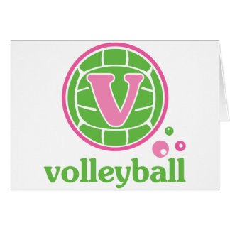 Allaire Volleyball Card
