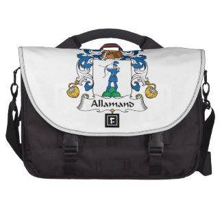 Allamand Family Crest Laptop Bags