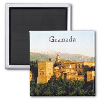 allambra granada 2 inch square magnet