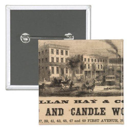 Allan Hay y Company Pins