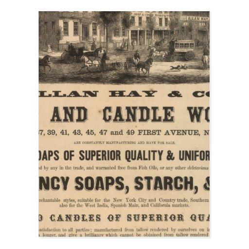 Allan Hay y Company Postal