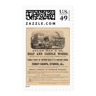 Allan Hay y Company Sellos Postales