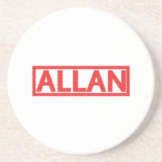 Allan Stamp Coaster
