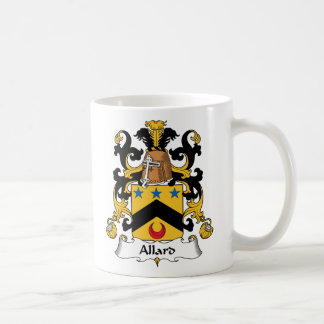 Allard Family Crest Classic White Coffee Mug