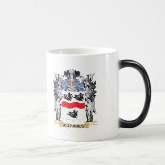 Allardes Coat of Arms - Family Crest 11 Oz Magic Heat Color-Changing Coffee Mug