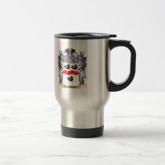 Allardes Coat of Arms - Family Crest 15 Oz Stainless Steel Travel Mug