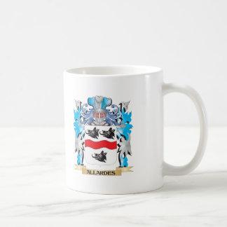 Allardes Coat Of Arms Classic White Coffee Mug