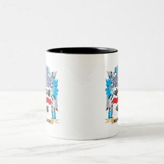 Allardes Coat Of Arms Two-Tone Coffee Mug