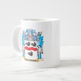 Allardes Coat Of Arms 20 Oz Large Ceramic Coffee Mug