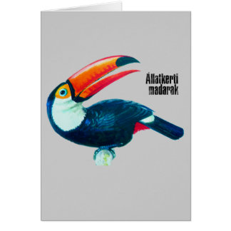 Allatkerti Madarak Card