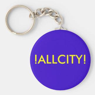 !ALLCITY! Basic Key Chain