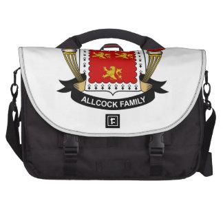 Allcock Family Crest Laptop Bag