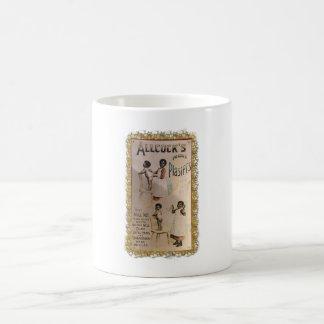 ALLCOCKS PLASTERS. COFFEE MUG