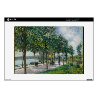 """Allée of Chestnut Trees - Alfred Sisley Decals For 15"""" Laptops"""