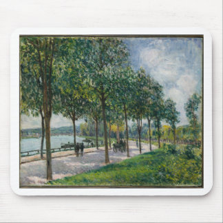 Allée of Chestnut Trees - Alfred Sisley Mouse Pad