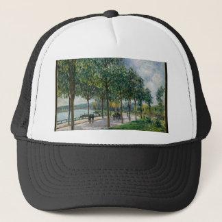 Allée of Chestnut Trees - Alfred Sisley Trucker Hat