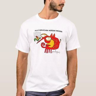 alle menschen werden brüder- shirt