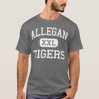 Allegan - Tigers - High School - Allegan Michigan T-Shirt