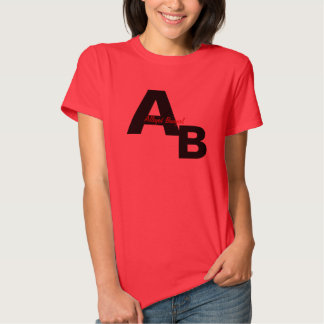 ALLEGED BADGIRL AB LADIES TEE