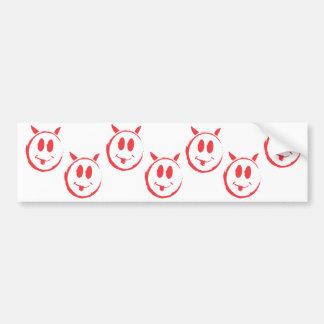 Alleged_smiley_killer_symbol Bumper Sticker