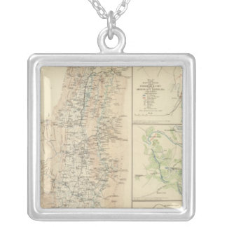 Alleghanies, Valley of Virginia Silver Plated Necklace