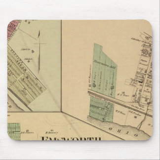 Allegheny County, Pennsylvania Mouse Pad