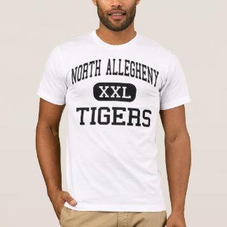 Allegheny del norte - tigres - Pittsburgh Playera
