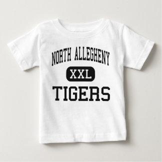 Allegheny del norte - tigres - Pittsburgh Playera De Bebé