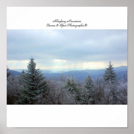 Allegheny Mountains, Allegheny Mountains Karma ... Poster