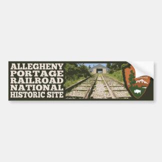 Allegheny Portage Railroad National Historic Site Bumper Sticker