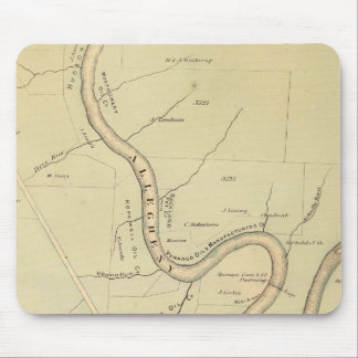 Allegheny River Mouse Pad
