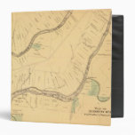 Allegheny River Pa, Map Vinyl Binders