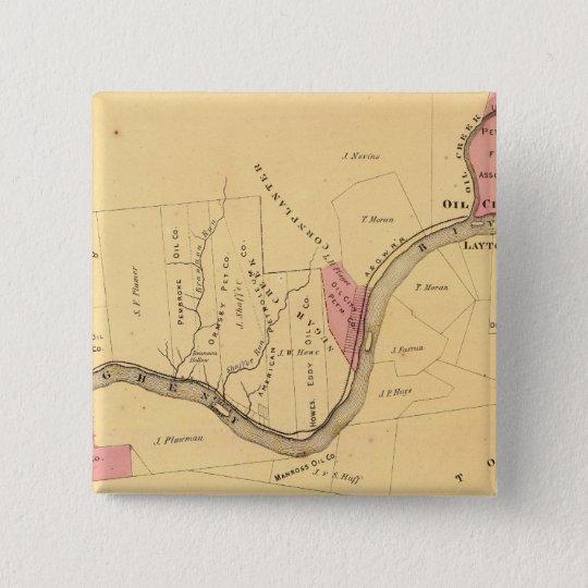 Allegheny River, PA Pinback Button