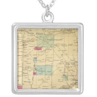 Allegheny Township Silver Plated Necklace