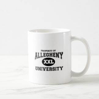 Allegheny University Coffee Mug