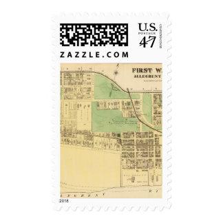 Allegheny ward 1 postage