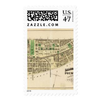 Allegheny ward 4 stamp